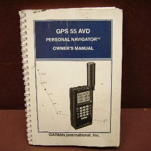 Garmin GPS 55 AVD operating manual